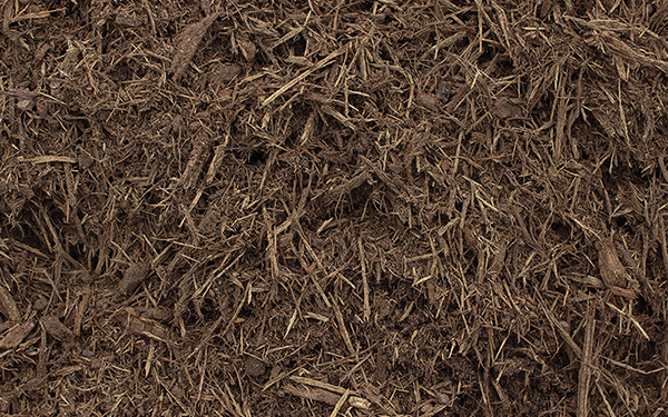 Red Premium Shredded Hardwood Colorized Mulch