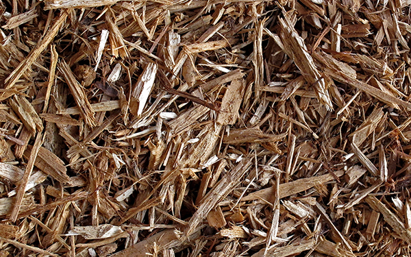 Brown Premium Shredded Hardwood Colorized Mulch