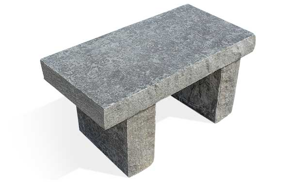 Blue River Stone Bench