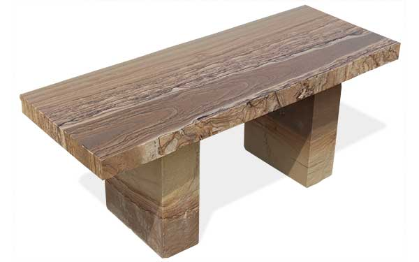 Brentwood Stone Bench