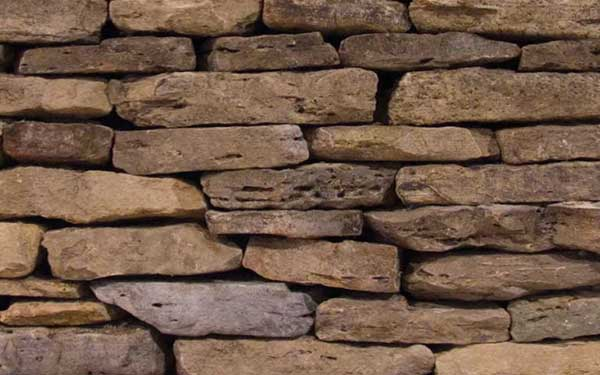 Weathered Fieldstone Natural Wall – Thin