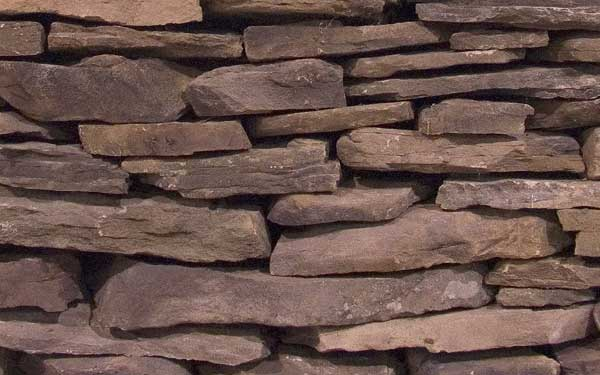 New England Fieldstone Natural Wall