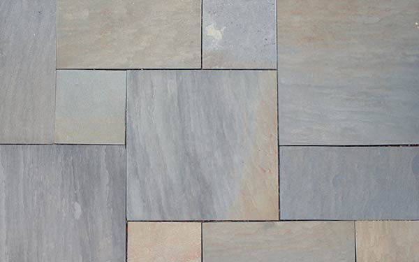 Pennsylvania Blue Thermal Pattern Flagstone